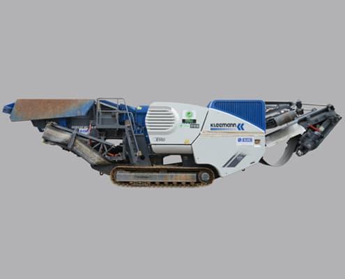Alquiler de maquinaria en Galicia para triturar materiales