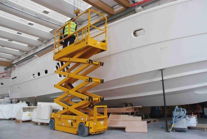 Haulotte Compact 10N - Tijera eléctrica 10 metros