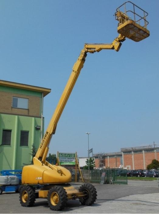 Telescópica 22 metros Haulotte H-23-TPX en alquiler en Vigo
