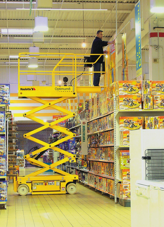 Haulotte Optimum 8 - Tijera eléctrica 8 metros