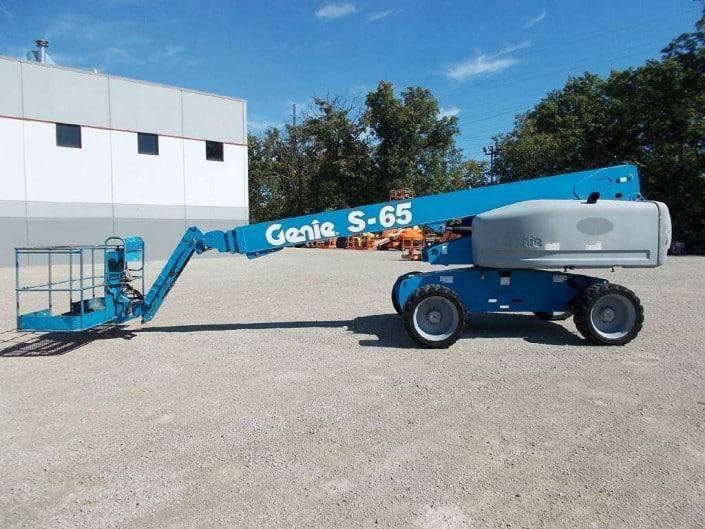 Telescópica 22 metros Genie S-65 en alquiler