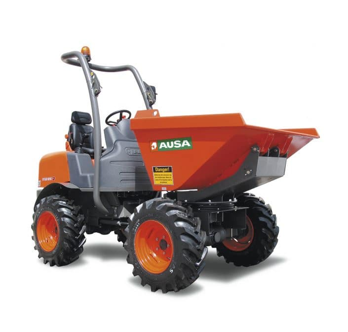 Dumper 1500 kg Ausa D150AHG en alquiler