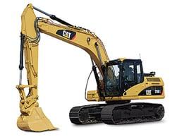 Caterpillar 315DL - Excavadora de 17500 kg.