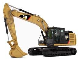 CAT 323E - Excavadora hidráulica de 24.000 kg