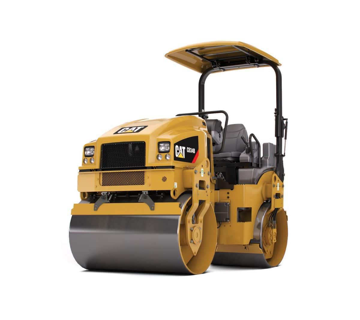 Rodillo 2800 kg Caterpillar CB24B en alquiler