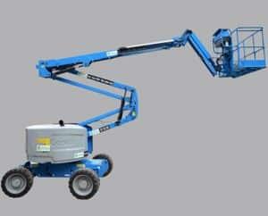 Alquiler de plataformas elevadoras de brazo articulado