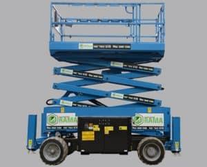 alquiler de plataformas elevadoras de tijera