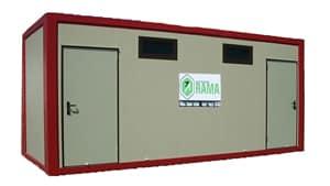 Módulo Sanitario Prefabricado con Aseos en alquiler y venta en Vigo