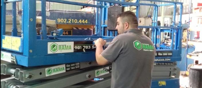 Electromecánico de maquinaria pesada