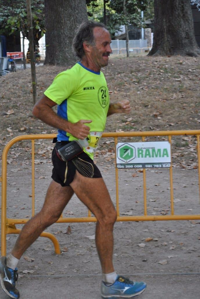Valla de Rama en la carrera 24 horas de Vigo