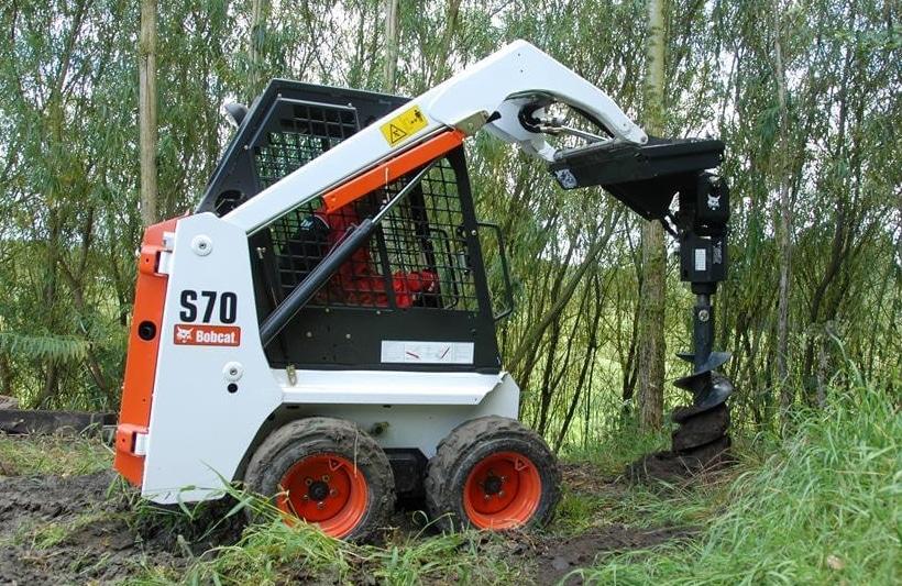 Mincargadora Bobcat S70 1200 kg en alquiler