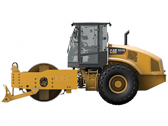 rodillo compactador CAT CS74B