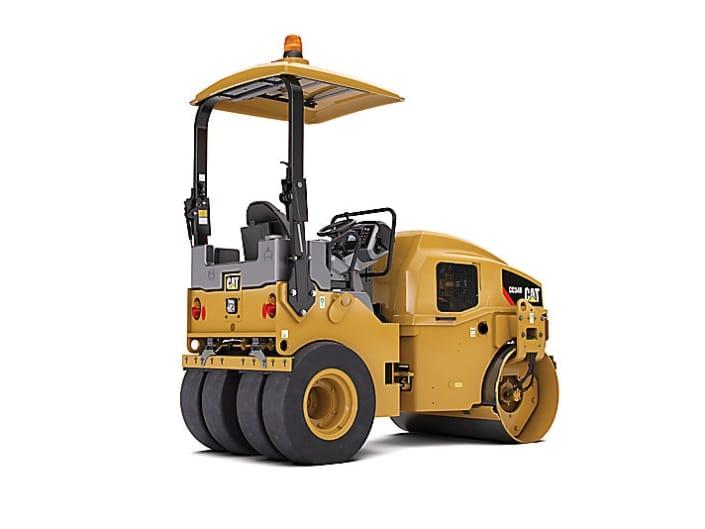 Rodillo de compactación de asfalto CAT CC34B