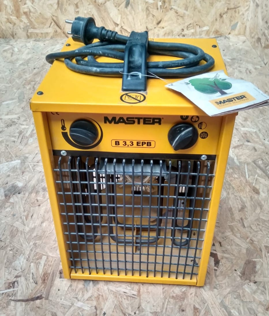 Calentador eléctrico monofásico en alquiler
