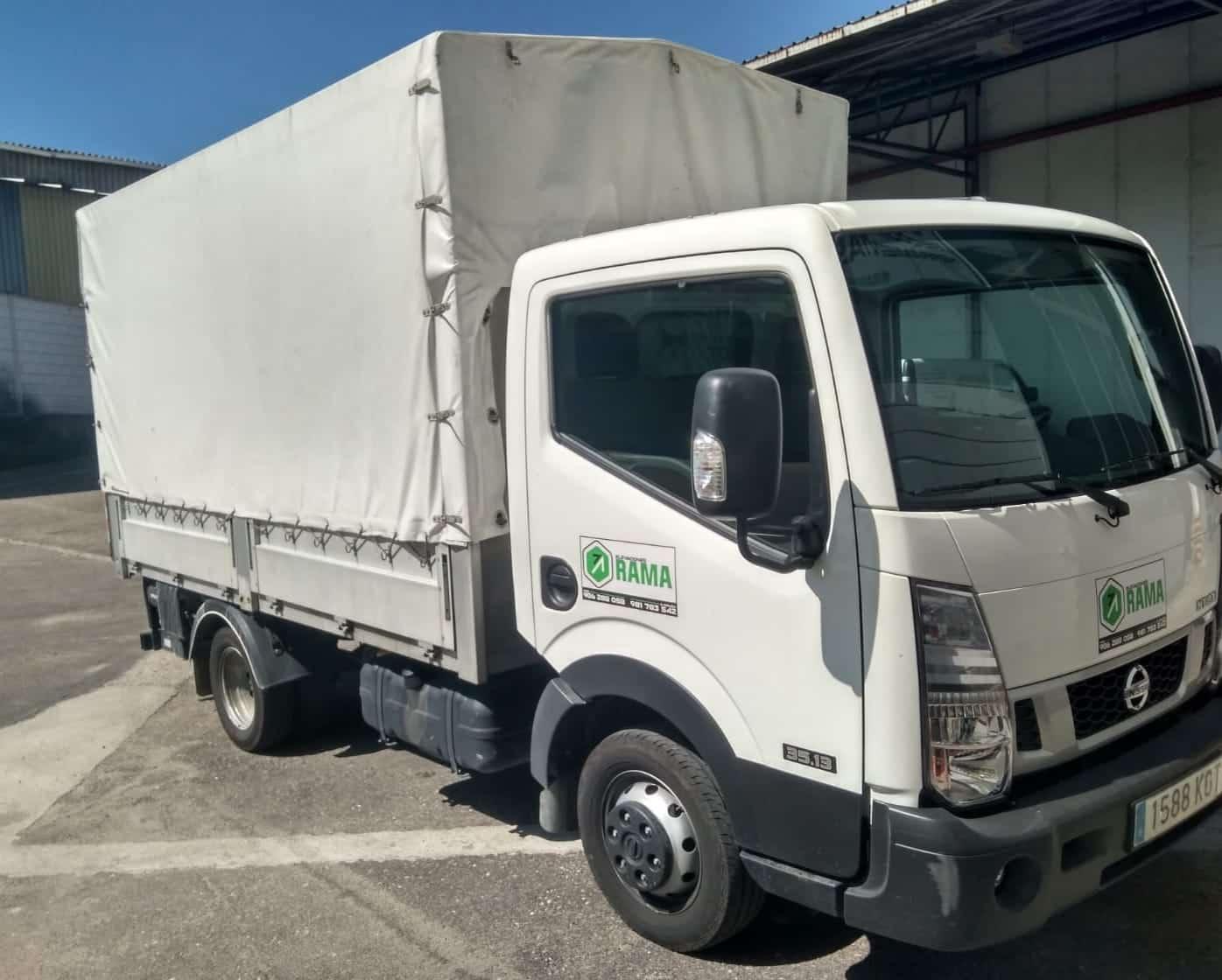 Camión de 3500 kg en alquiler