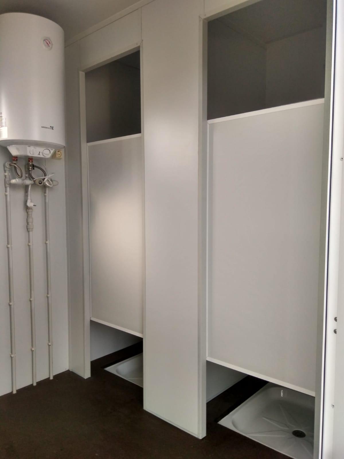 Caseta Precusa P-4PS 2 duchas 2 baños