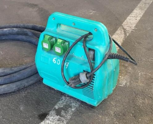 Convertidor vibrador de alta frecuencia en alquiler en Vigo