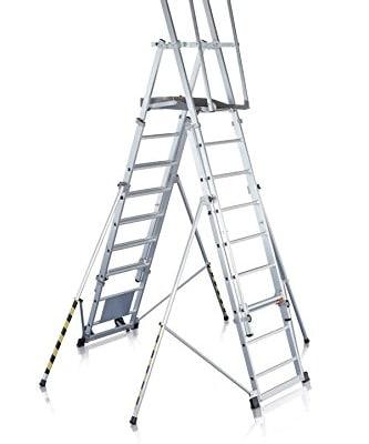 Zarges Z600 Escalera de plataforma telescópica en alquiler en Vigo