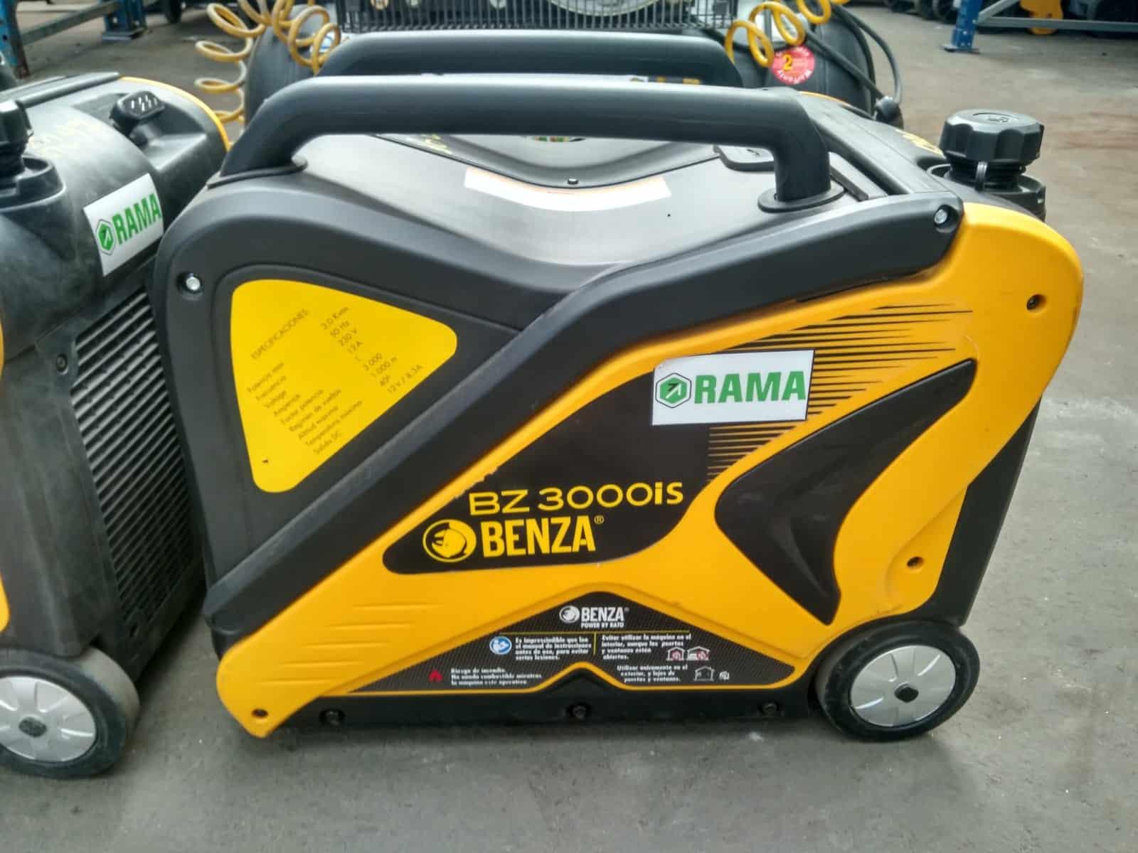 Generador portátil en alquiler en Vigo