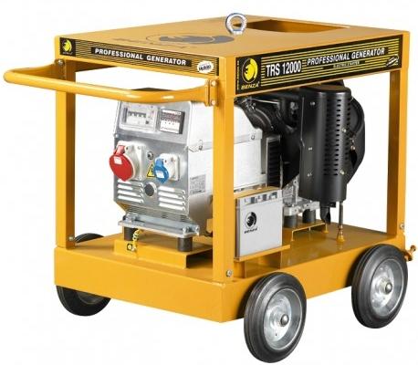 Generador a Gasolina trifásico en alquiler en Vigo modelo BenzaTRS12000