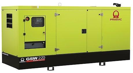 Pramac GSW220 es un generador a gasóleo de 220 kva