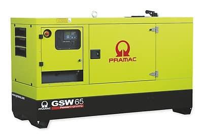 Grupo electrógeno Pramac GSW65 en alquiler en Vigo