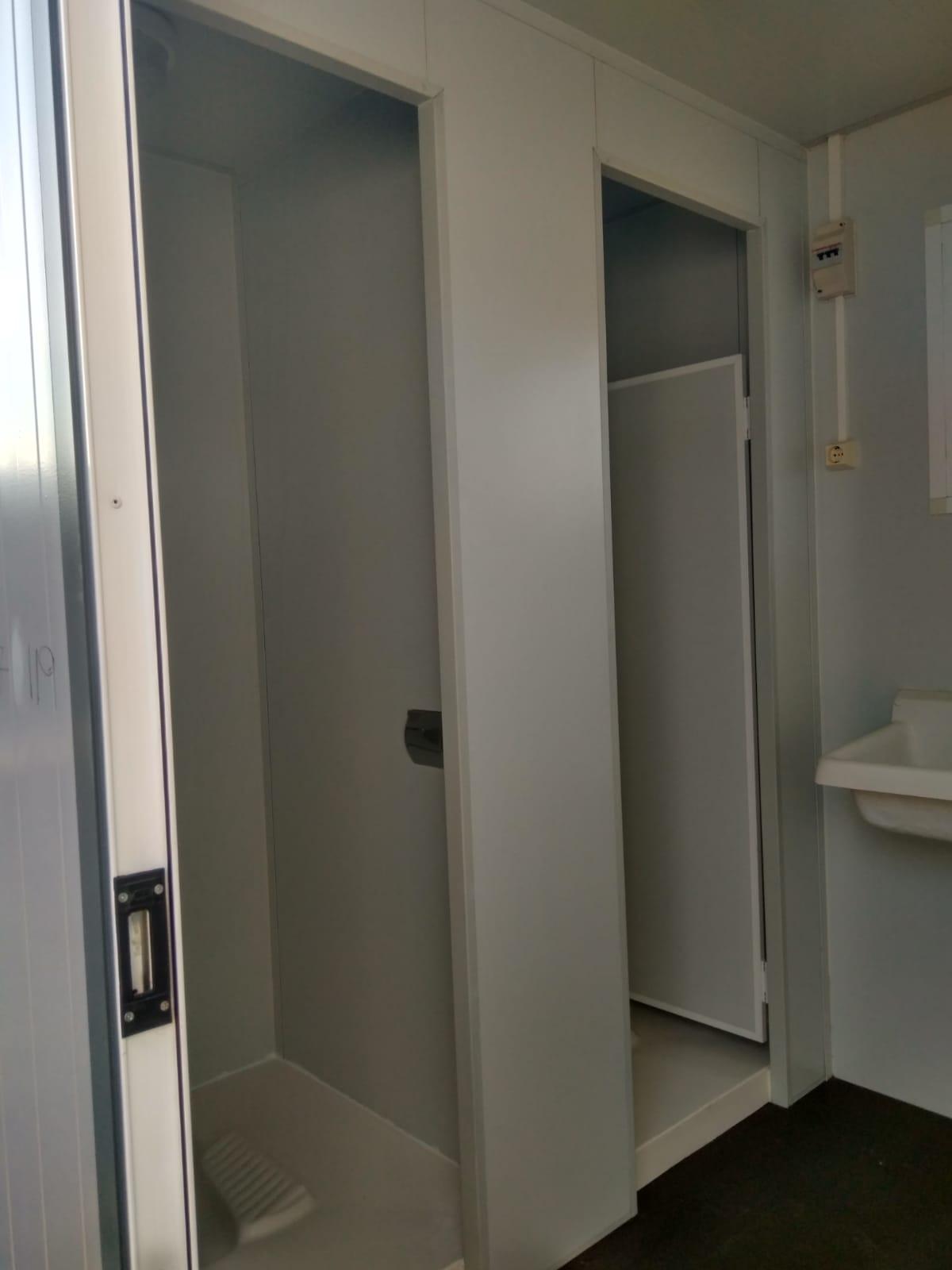 Módulo sanitario Precusa P-4PS 2 duchas 2 baños