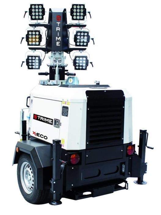 Torre de Iluminación 6 focos LED en alquiler