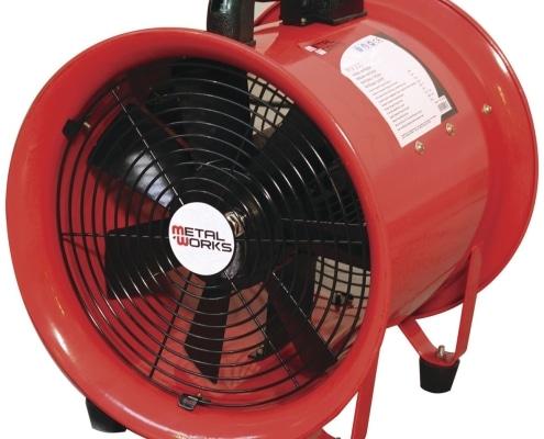 Ventilador extractor de suelo