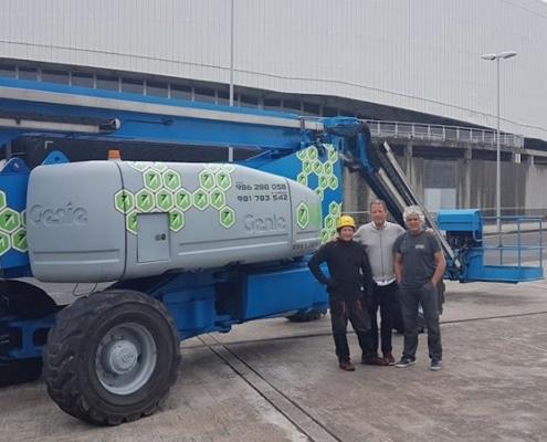 Genie Z135-70 Plataforma de brazo articulado de 43 metros en alquiler en A Coruña