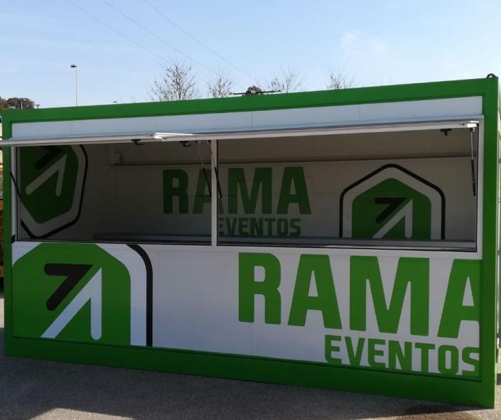 Alquiler de casetas para eventos en Galicia