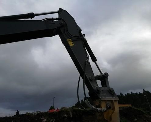 brazo Excavadora volvo EC 360 DL