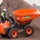 Dumper 4x4 en alquiler Ausa D450AHG