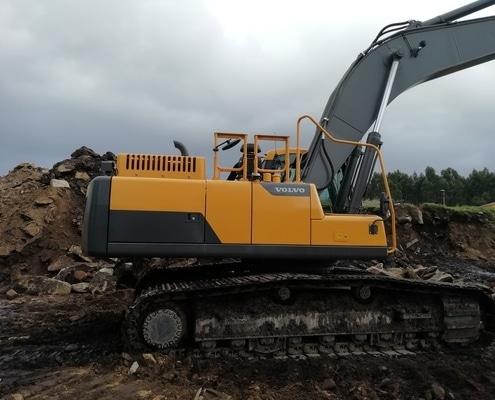 Excavadora 30 toneladas segunda mano