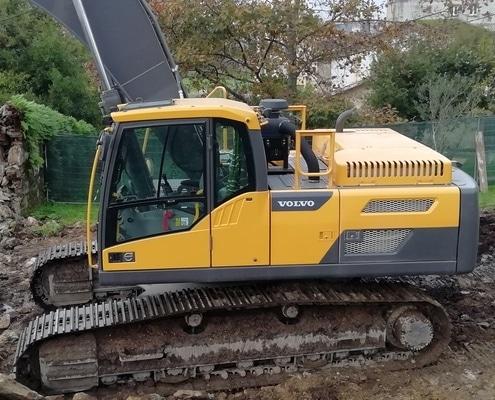 Excavadora 30 toneladas de segunda mano en Galicia