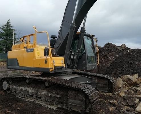 Excavadora ocasión 30 toneladas en Galicia