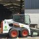 Minicargadora Bobcat en alquiler en Vigo, modelo S450 2400 kg.