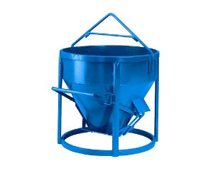 Alquiler de cubo de hormigón de doble vertido en Galicia
