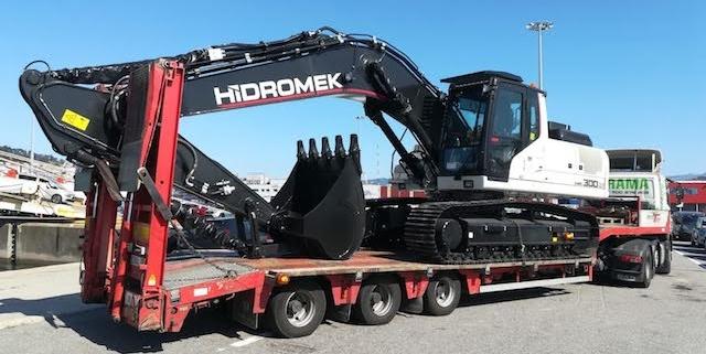 Conductor de maquinaria pesada para A Coruña