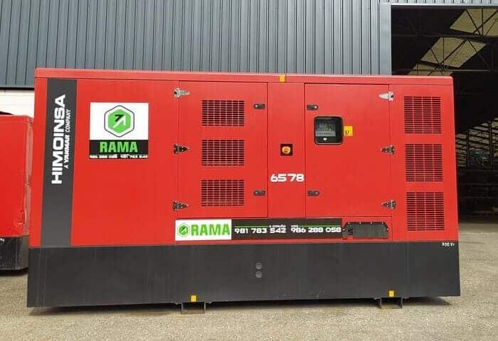 Generador diesel 300 Kva en alquiler