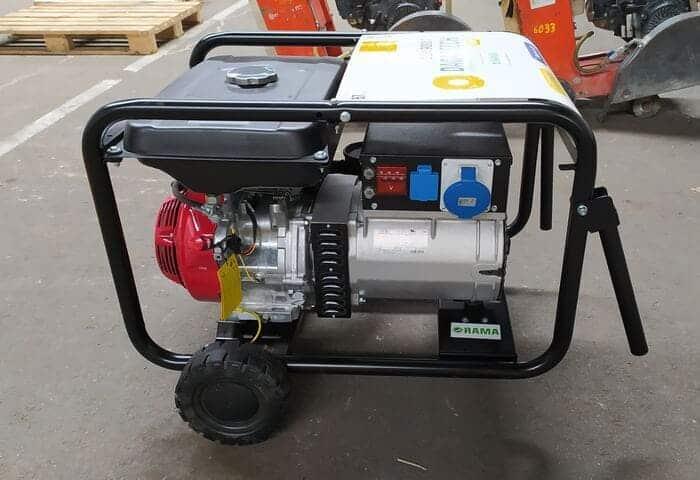 Generador a gasolina Dagartech DGH9000P en alquiler en Galicia