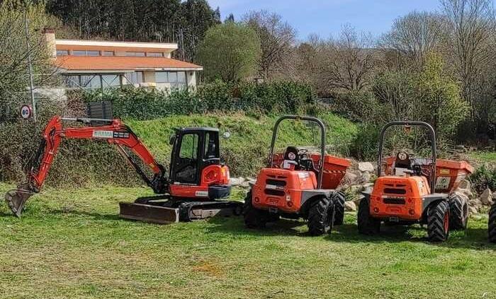 Recambista maquinaria para Sanguiñeda, Mos, Pontevedra